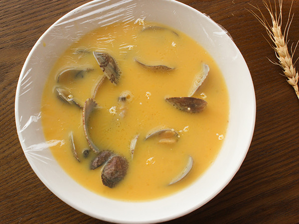 蛤蜊蒸蛋的简单做法