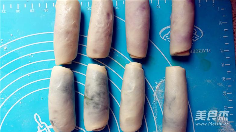 抹茶紫薯蛋黄酥的制作方法