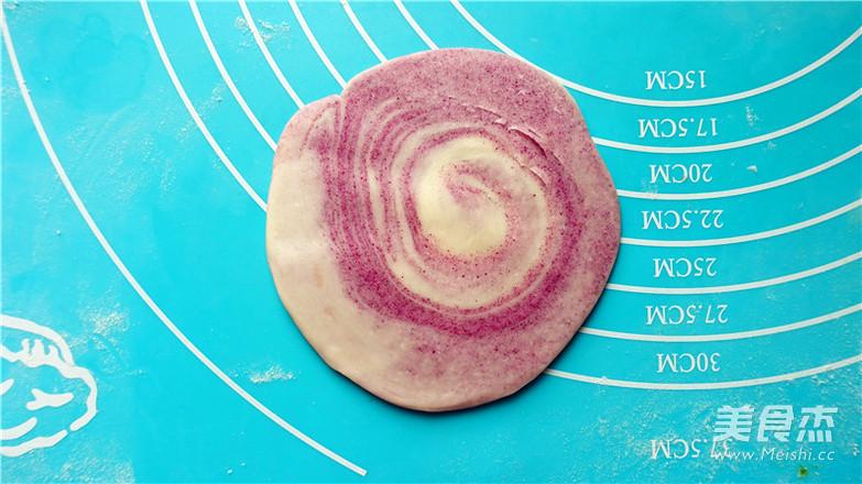 抹茶紫薯蛋黄酥的做法大全
