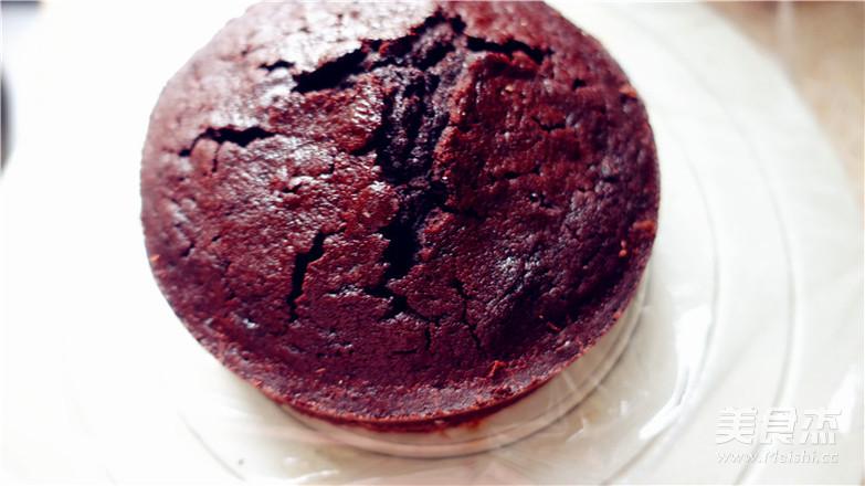 巧克力落叶蛋糕怎样炒