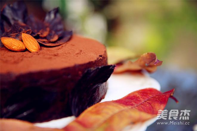 巧克力落叶蛋糕的做法大全