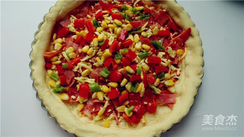 培根田园披萨的制作大全