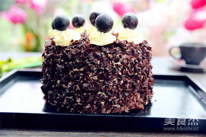 黑森林蛋糕的步骤