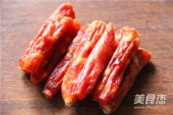 香肠菜饭的家常做法