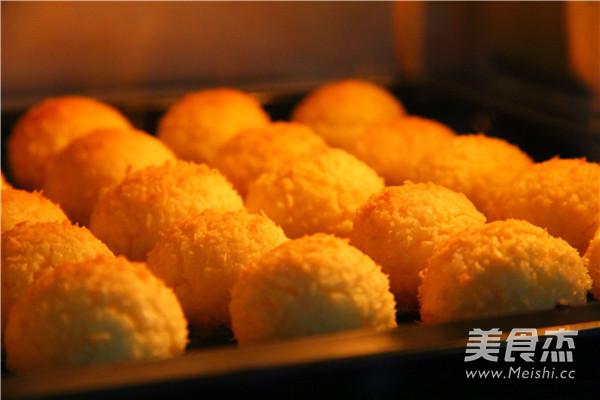 黄金椰蓉酥饼怎么煸