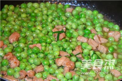 小豌豆炒肉丁怎么做