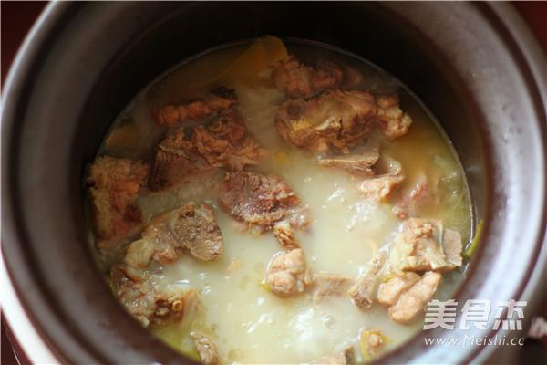 小排骨土豆汤怎么炒