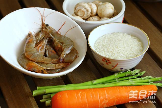 芦笋鲜虾粥的做法大全