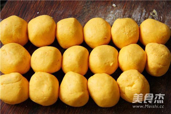 南瓜豆沙包的简单做法