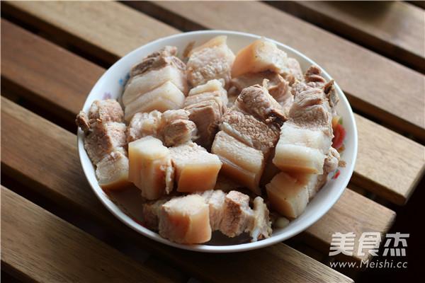 百叶结烧肉的做法图解