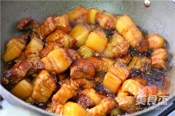 百叶结烧肉的简单做法