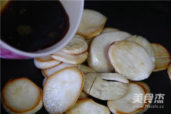 黑椒烧汁杏鲍菇的简单做法