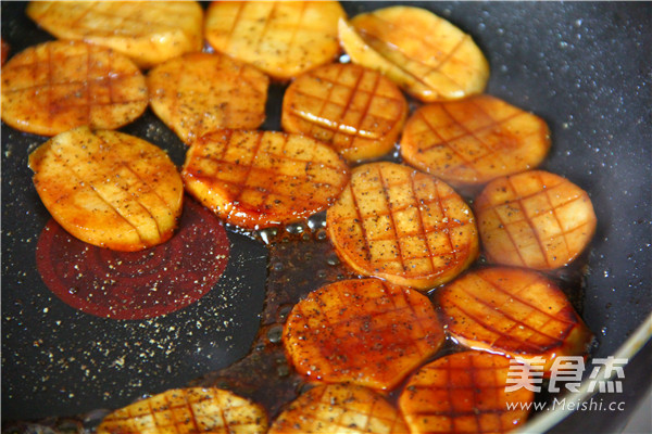 黑椒烧汁杏鲍菇怎么做