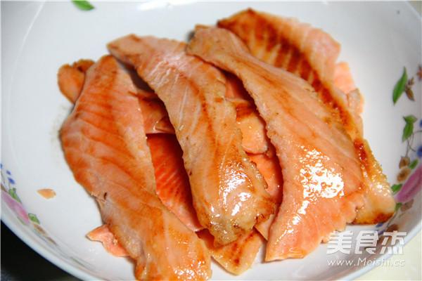 三文鱼肉松的做法图解