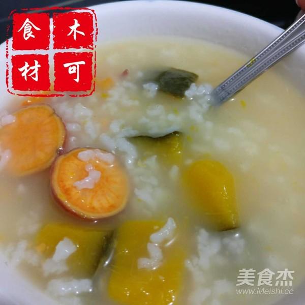 南瓜红薯大米粥怎么吃