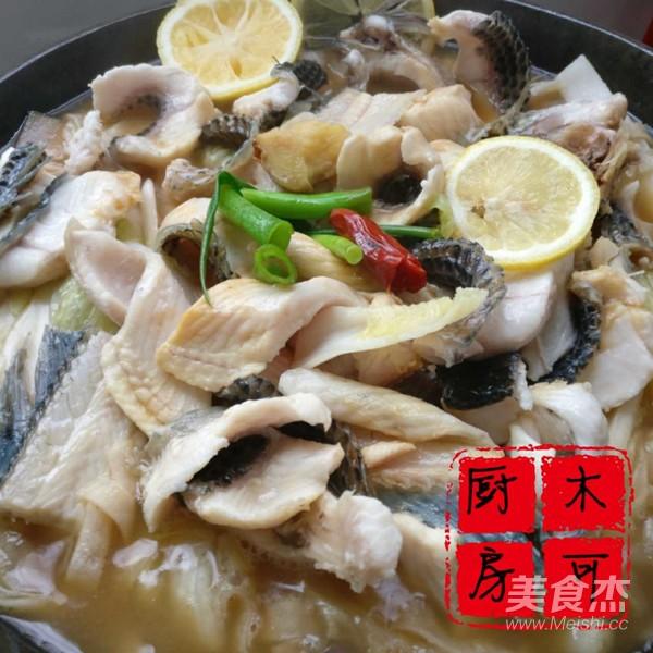 铁锅炖黑鱼怎么炖