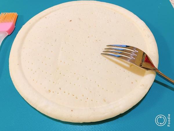 光波田园火腿披萨的简单做法