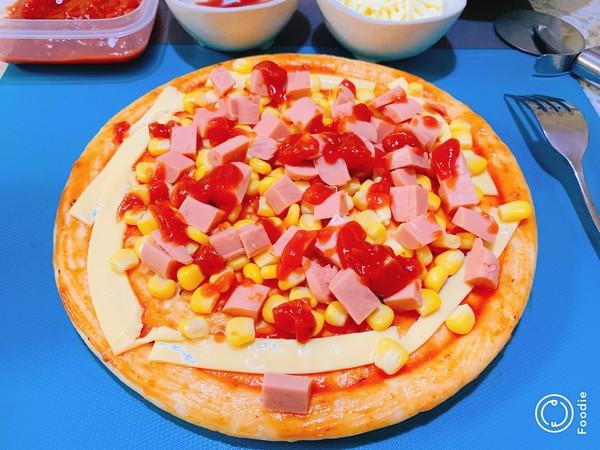 光波田园火腿披萨怎么做