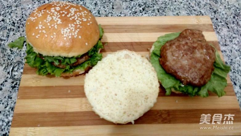 猪排汉堡包怎样煸