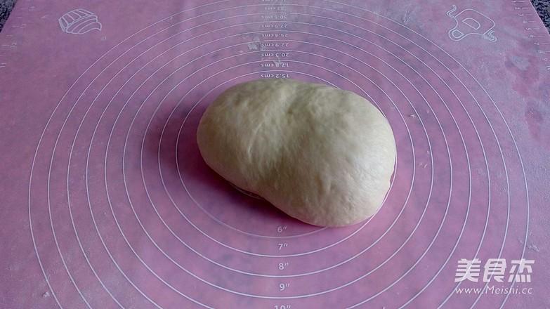 牛奶豆沙面包的做法图解