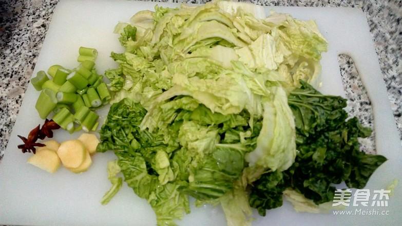 大虾白菜冻豆腐的做法图解