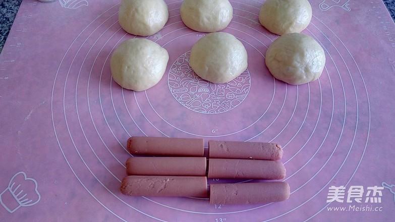 火腿肠面包的家常做法