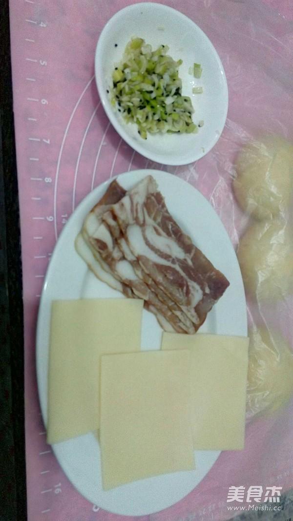 奶酪培根面包怎么做