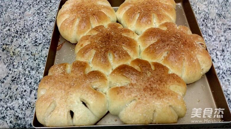 豆沙椰蓉面包怎么煸