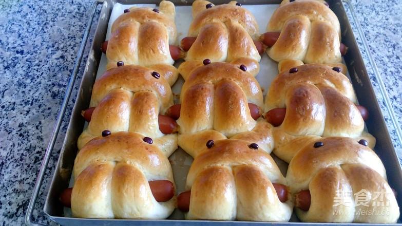 小兔面包怎样做