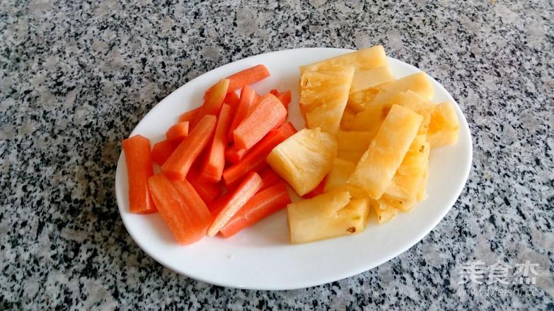 菠萝排骨的做法图解