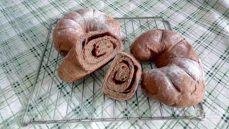 可可软欧面包的制作方法