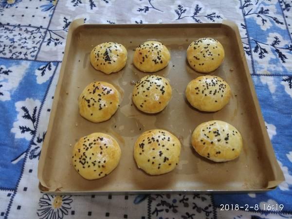 金丝肉松酥饼怎样做