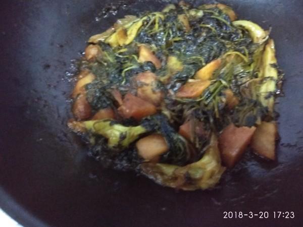 烀小咸菜怎样做