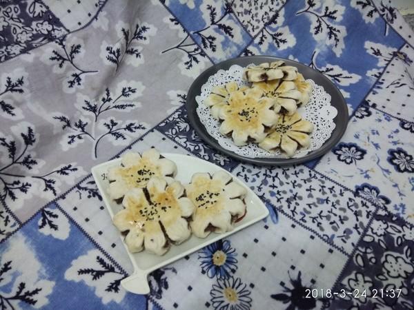 菊花酥的制作方法