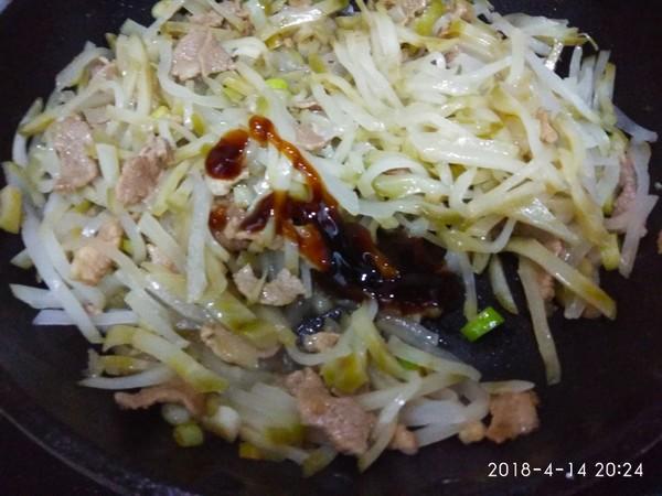 榨菜炒肉怎么做