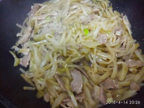 榨菜炒肉怎么煮