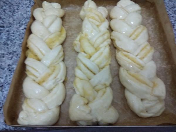 椰蓉辫子面包怎么煸