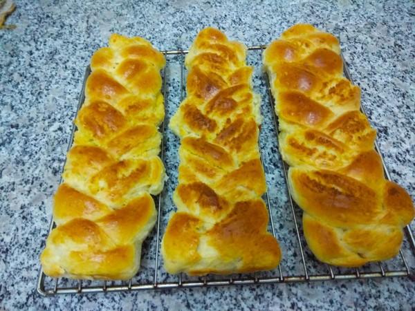 椰蓉辫子面包怎样做