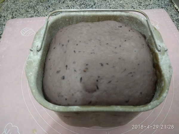 桑葚面包的家常做法