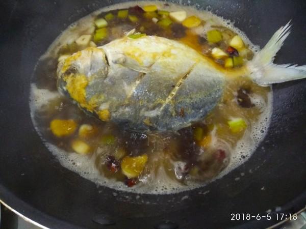 红烧鲳鱼怎么做