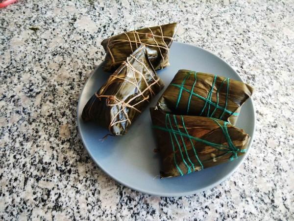 蒸原味粽子#早餐#的做法大全