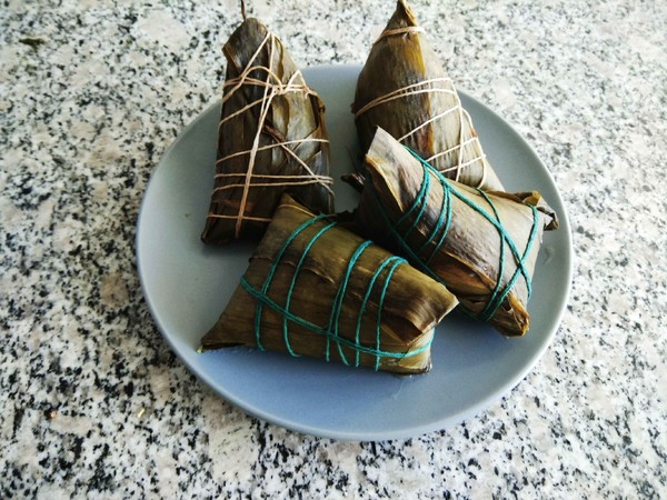 蒸原味粽子#早餐#的家常做法