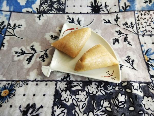 蒸原味粽子#早餐#怎么吃
