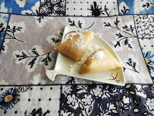 蒸原味粽子#早餐#怎么做