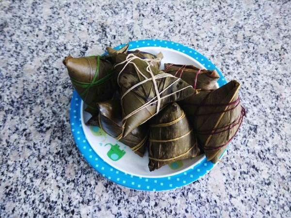 多种馅粽子的简单做法
