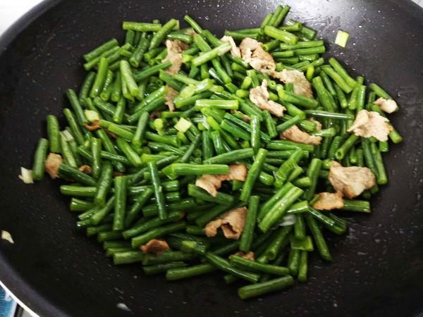 肉炒豇豆怎么做