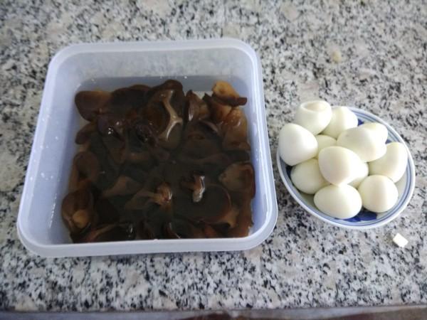 肉炒鹌鹑蛋木耳的做法大全