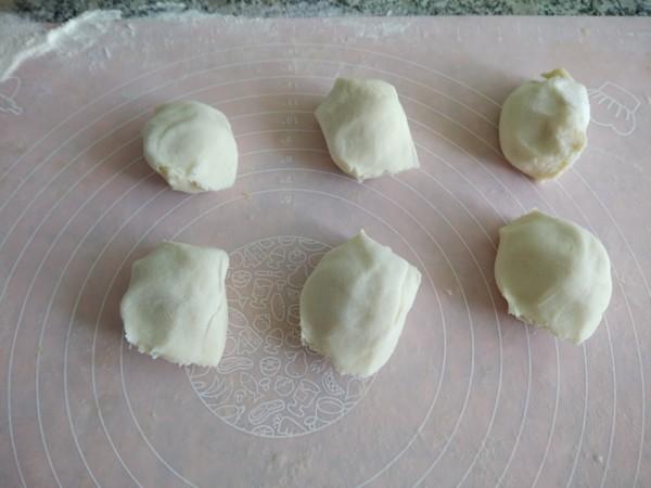 蜜豆烫面饼怎么吃