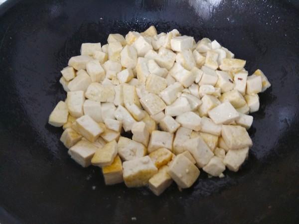 韭菜豆腐的家常做法