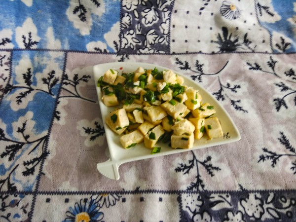 韭菜豆腐怎么炒